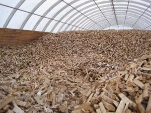 Firewood terminal